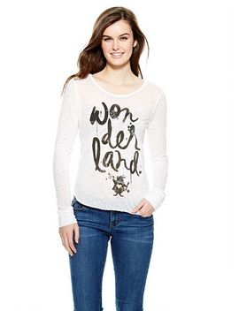 wonderland-long-sleeve-top by delias