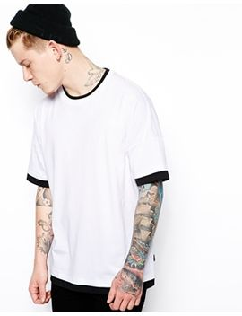 asos-t-shirt-with-double-layer-effect-and-oversized-fit by asos