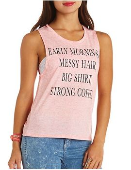 early-mornings-marled-graphic-muscle-tee by charlotte-russe