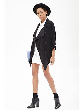 woven-trench-coat by forever-21