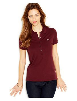 five-button-slim-fit-polo by lacoste