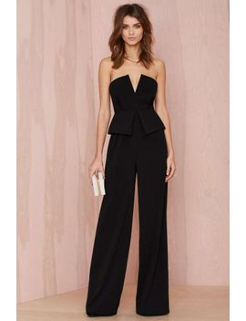 nasty-gal-love-to-love-you-peplum-jumpsuit by nasty-gal