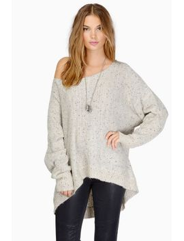 alyssa-off-shoulder-sweater by tobi