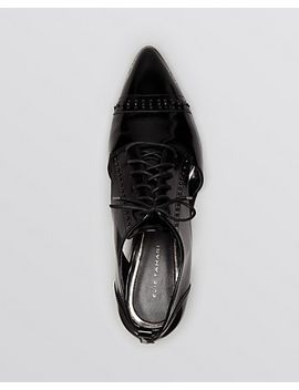 pointed-toe-lace-up-oxford-flats---oakly by elie-tahari