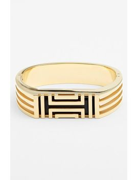 for-fitbit®-hinged-bracelet by tory-burch