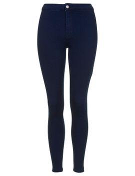 petite-moto-intense-blue-joni-jeans by topshop