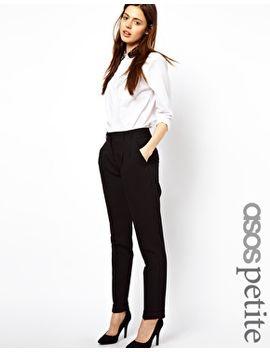 asos-petite-basic-peg-trousers by asos-petite