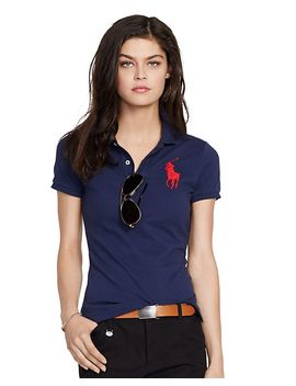 skinny-fit-big-pony-polo-shirt by ralph-lauren