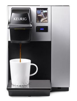 keurig-k150-single-cup-commercial-k-cup-pod-coffee-maker,-silver(direct-plumb-kit-not-included) by keurig