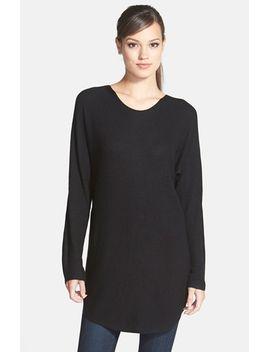 shirttail-hem-sweater by trouvÉ