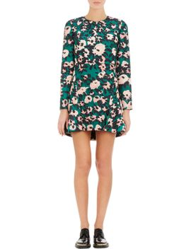 abstract-floral-print-dress by marni