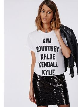 slogan-k-t-shirt-white by missguided