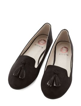 come-on,-get-sassy-flat-in-black by modcloth