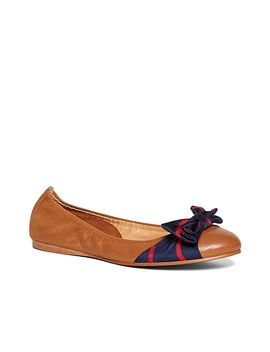 silk-bow-ballet-flats by brooks-brothers
