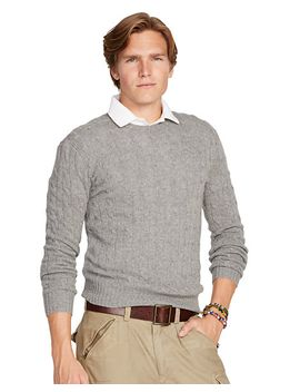 cashmere-cable-knit-sweater by ralph-lauren