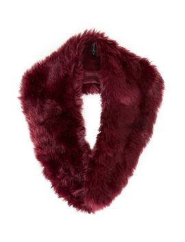 faux-fur-stole by topshop