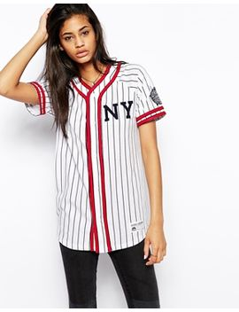 majestic-nyc-pinstripe-baseball-jersey by majestic