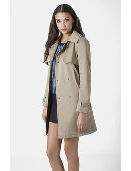 belted-trench-coat by topshop