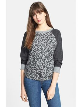 animal-print-sweatshirt by c-&-c-california
