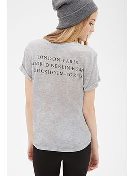 cities-graphic-v-neck-tee by forever-21