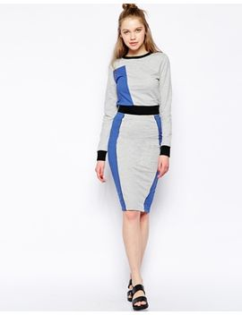 influence-color-block-paneled-pencil-skirt by influence