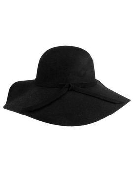 new-style-soft-women-vintage-wide-brim-wool-felt-bowler-fedora-hat-floppy-cloche by unbranded