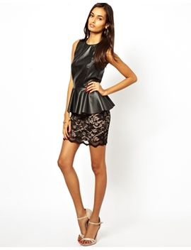 jessica-wright-cher-lace-mini-skirt by skirt