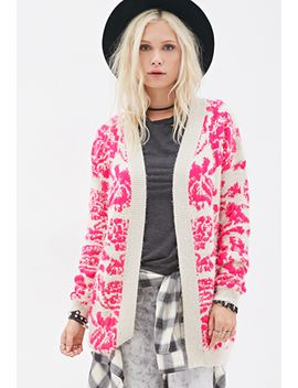 fuzzy-floral-cardigan by forever-21