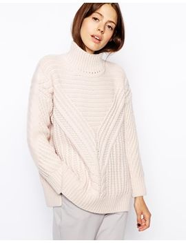 asos-cable-sweater-with-turtleneck by asos-collection