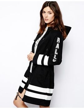 asos-parka-with-contrast-print by asos-collection