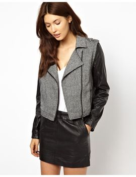 greylin-monroe-motorcycle-jacket-with-faux-leather-sleeves by jacket