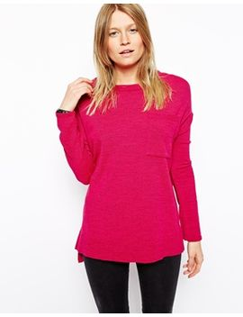 asos-oversized-sweater-with-pocket by asos-collection