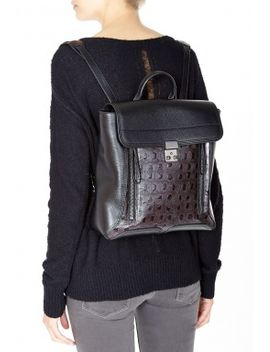 Black Pashli Backpack by 3.1 Phillip Lim