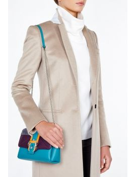 Colour Block Medium Shoulder Bag by Paula Cademartori