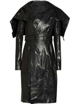 the-outnettextured-leather-coat by rick-owens