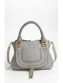 medium-marcie-leather-satchel by chloé