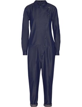 the-outnetdenim-jumpsuit by tibi