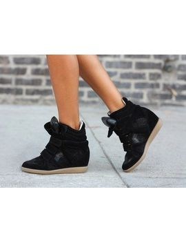 new-isabel-marant-beckett-over-basket-sneakers-sz-40-black-suede-leather-$895 by ebay-seller