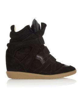 $757-nib-isabel-marant-bekett-black-hidden-wedge-sneakers-fr40-_us-9-95 by ebay-seller