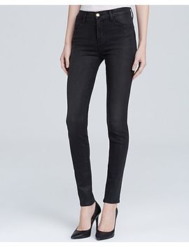 coated-photo-ready-high-rise-maria-jeans-in-black-diamond by j-brand