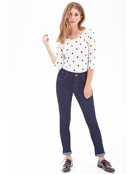 mid-rise-skinny-jeans by forever-21