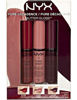 butter-lipgloss-pure-decadence-set by nyx-cosmetics