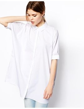 asos-oversize-batwing-shirt by asos-collection