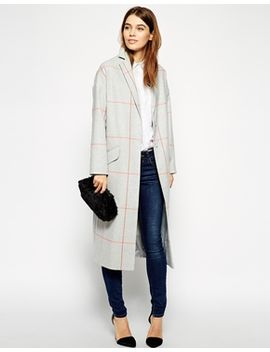 asos---manteau-long-à-carreaux by asos-collection