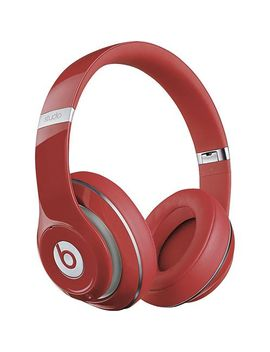 beats-studio-over-the-ear-headphones---red by beats-by-dr-dre