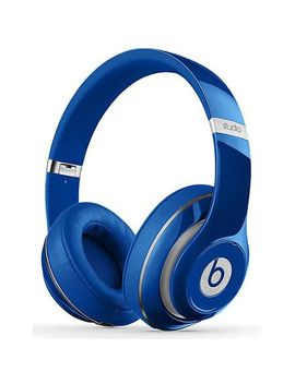 beats-by-dr-dre-studio-wired-over-ear-headphones---blue by beats-by-dr-dre