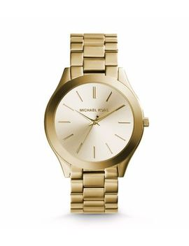 slim-runway-gold-tone-stainless-steel-watch by michael-kors