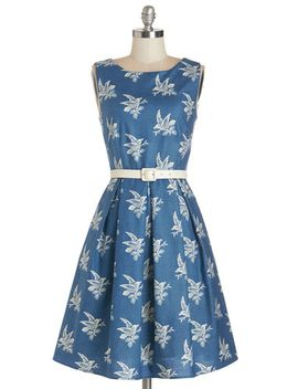 soaring-through-the-day-dress by modcloth