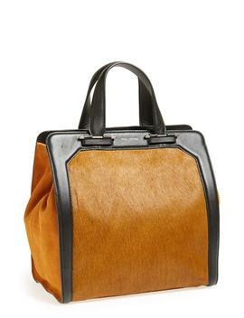 servant-leather-&-genuine-calf-hair-tote by pour-la-victoire
