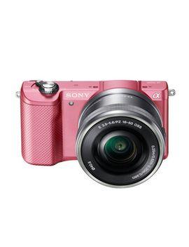 sony-ilce-5000-pink-+-e-16-50mm-f35-56-oss-alpha-a5000-a5000l-~-new by ebay-seller